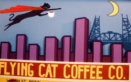 Flying cat big