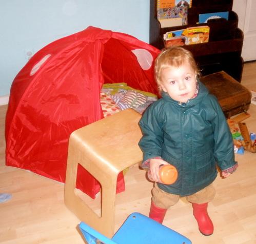 Reesie raincoat